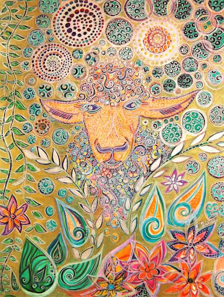 Sheep Dream Too Art | Cynthia Christensen Art