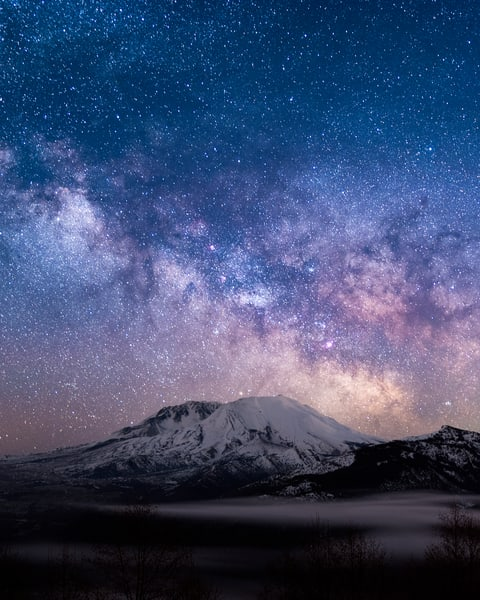 Helens Cosmos Photography Art   Call of the Mountains Photography