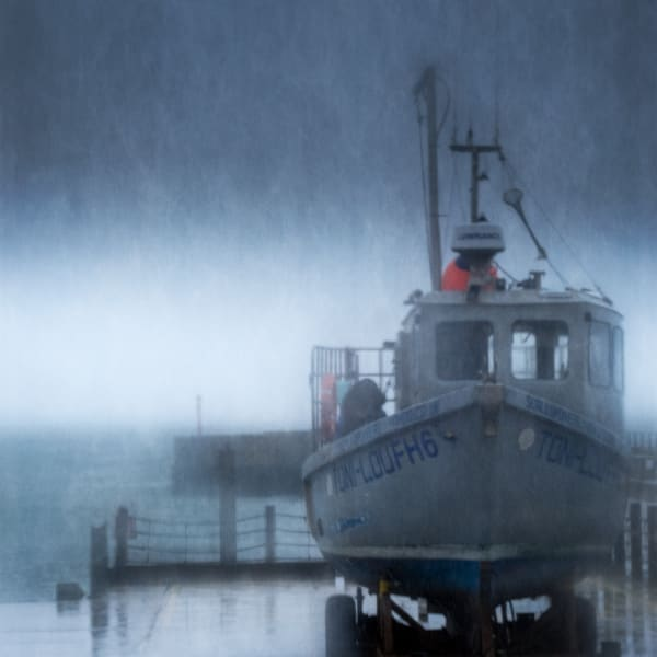 Wes Bay Fishing Boat Art | Roy Fraser Photographer