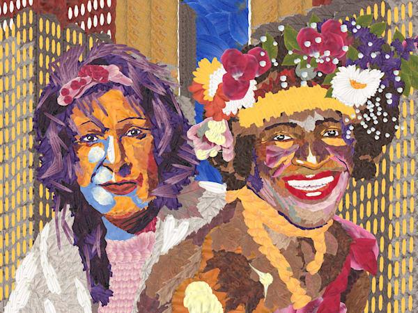 Marsha P Johnson & Sylvia Rivera Art   smacartist