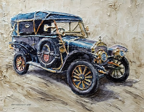 1912 Mercedes-Knight by Philippine Artist Joey Agbayani
