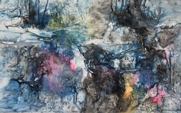 Everything Is Flowing Going Somewhere 2 (Unframed) Art   Karen Kurka Jensen
