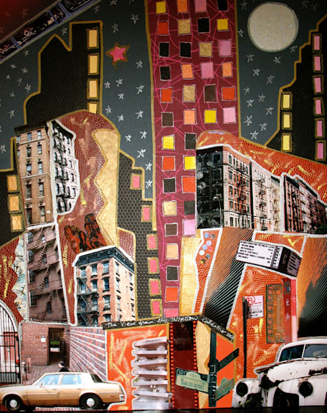 View from My Window by Ann Calandro, an American Collagist and Photographer