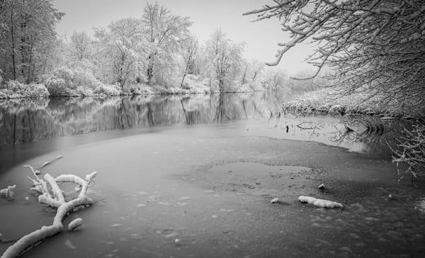 Winter Reflections Photography Art   Ursula Hoppe Photography