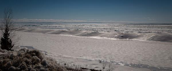 Blue Ice   Lake Michigan Photography Art | Ursula Hoppe Photography