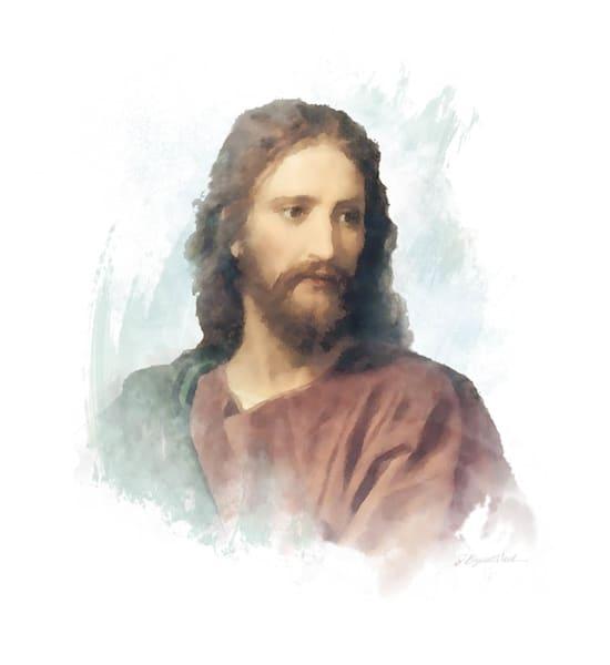 Portrait of Christ after Heinrich Hoffman