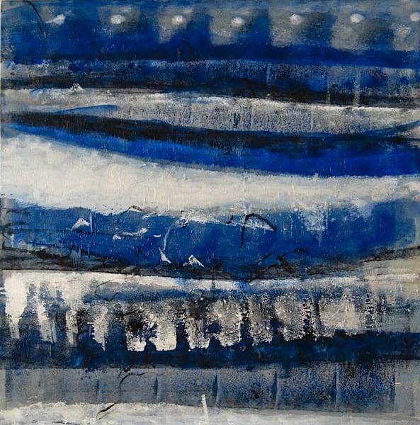 Original Paintings /Blue Tides 31x31 Inch | Art Space 349