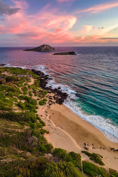 Makapuu Shoreline at Sunrise