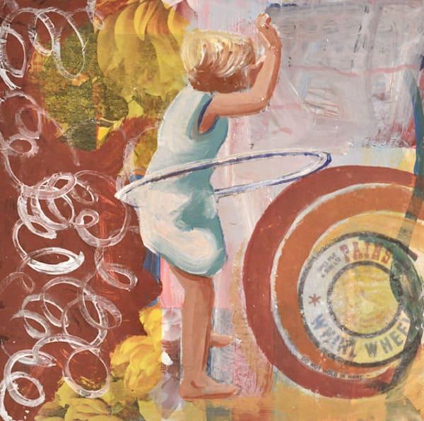 #18; Whirl Wheel Art | memoryartgirl