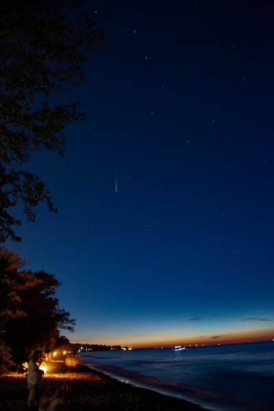 Comet Neowise Photography Art | RAndrews Photos