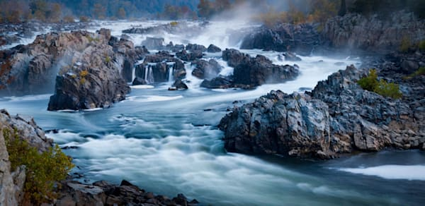 Great Falls in the Mist