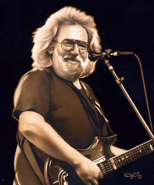 Jerry Garcia  Art   GeorgeCharriezArt