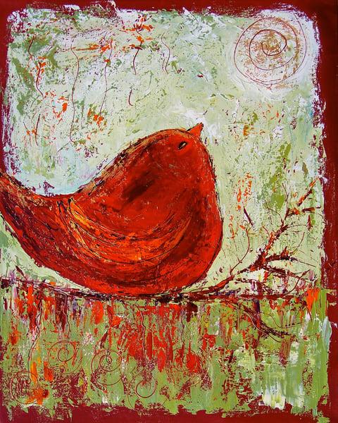 Big Ol' Red Bird