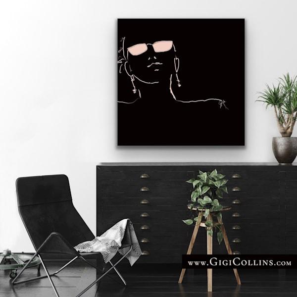 One Limited Edition Gallery Wrap  Art | Gigi Collins Art