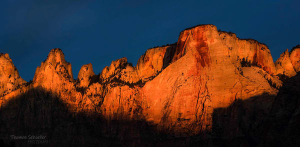 Temples and Towers of the Virgin | Zion National Park photography prints for sale