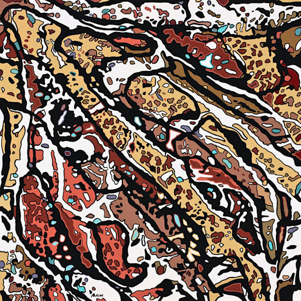 Relic / Acrylic On Panel Art | Patrick M. Parise