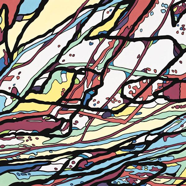 Under Water / Acrylic On Panel Art | Patrick M. Parise
