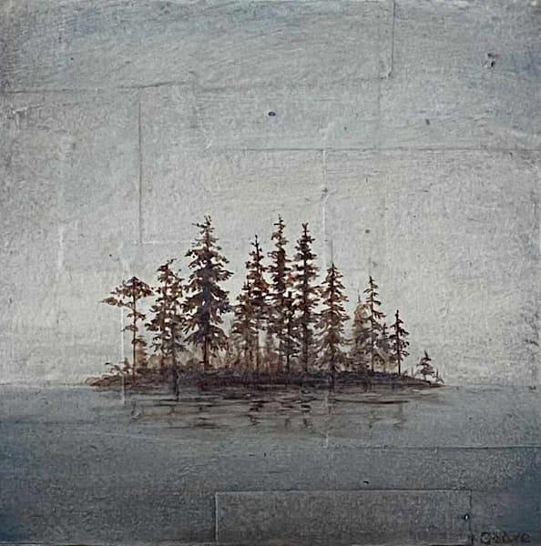 Orcas Islet (Study) Art   Fountainhead Gallery