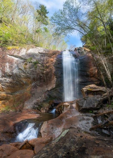 Cullowhee Falls at Glenville Lake Print