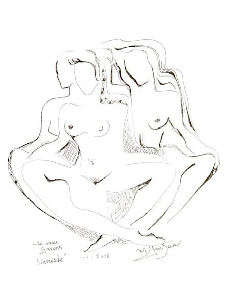 The Three Graces, Namaste   Micky Jansen