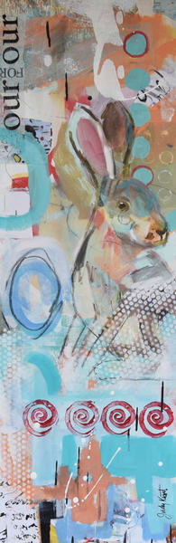 Down The Rabbit Hole Art | KnottJust Art