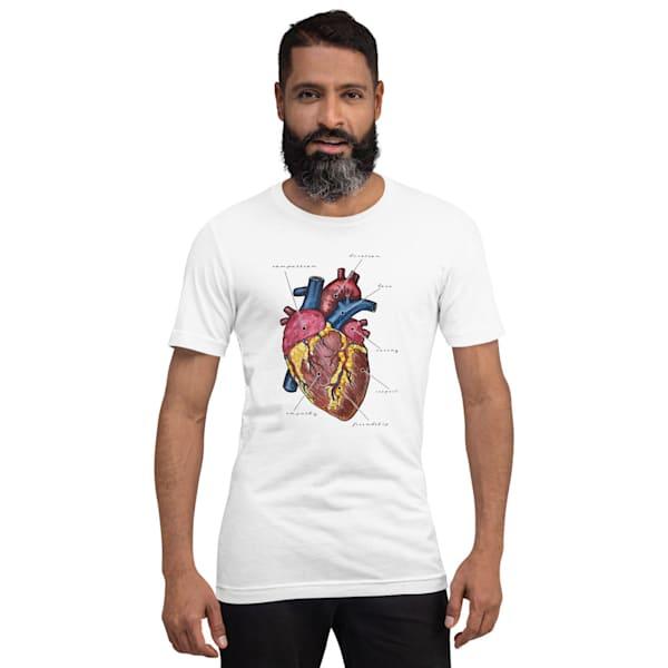 Heart Unisex T Shirt | Water+Ink Studios