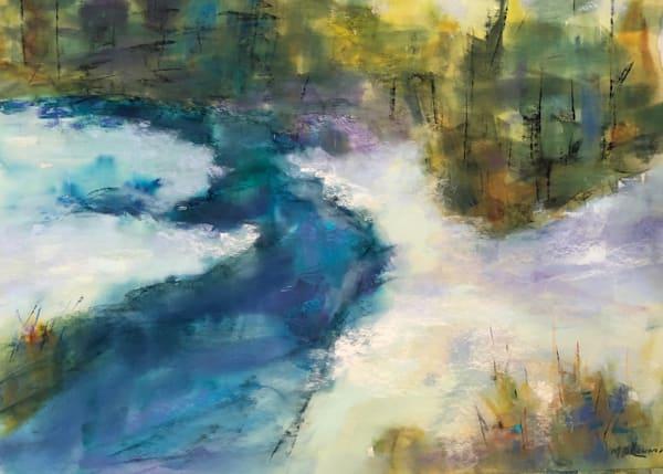 Winter Stream Art | East End Arts