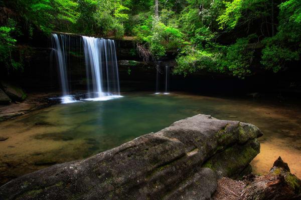 Caney Creek Falls - Alabama waterfalls fine-art photography prints