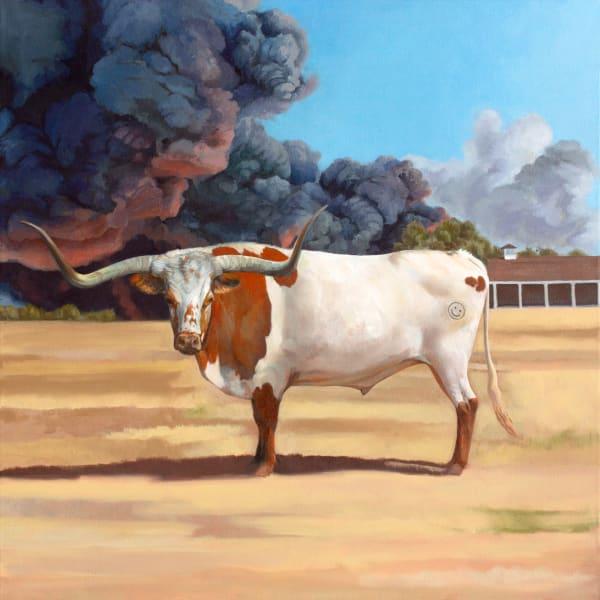 Smiley Bull Art | Kym Day Studio