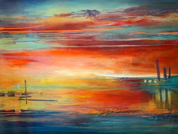 Entering Into Another World  Art | Kristyn Watterworth