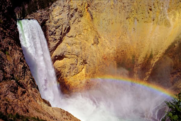 Lower Falls Of The Yellowstone River Photography Art | RAndrews Photos