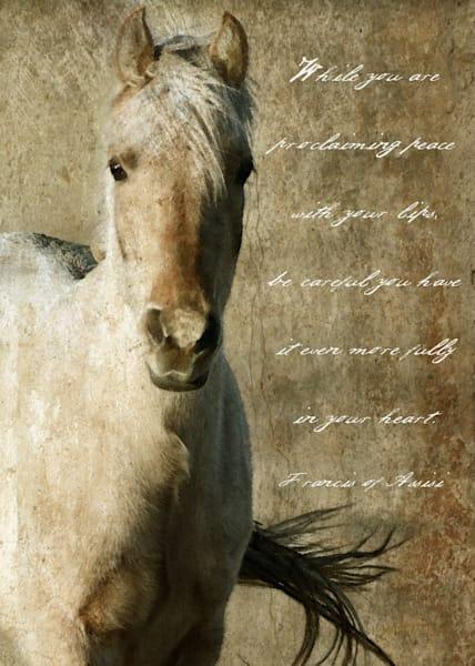 PALOMINO HORSE SPARKLY ART