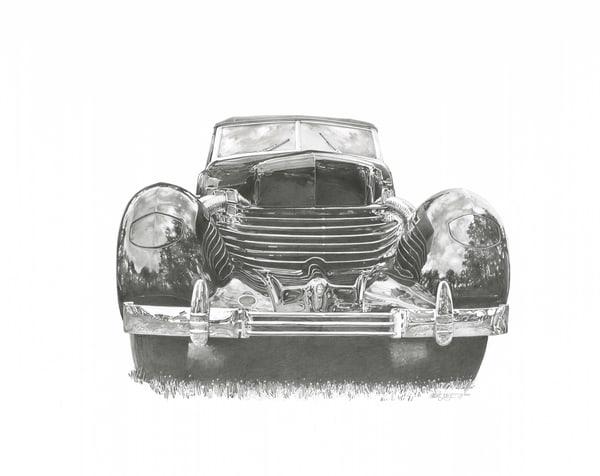 Cord 810 Art   Andre Junget Illustration LLC