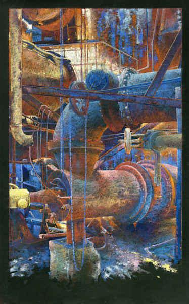 Carrie Furnace  4 Art   Andre Junget Illustration LLC