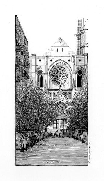 St. John The Divine Art | Andre Junget Illustration LLC