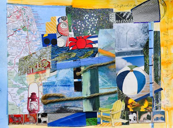 Tomorrow's Forecast: Beach House Art   All Together Art, Inc Jane Runyeon Works of Art
