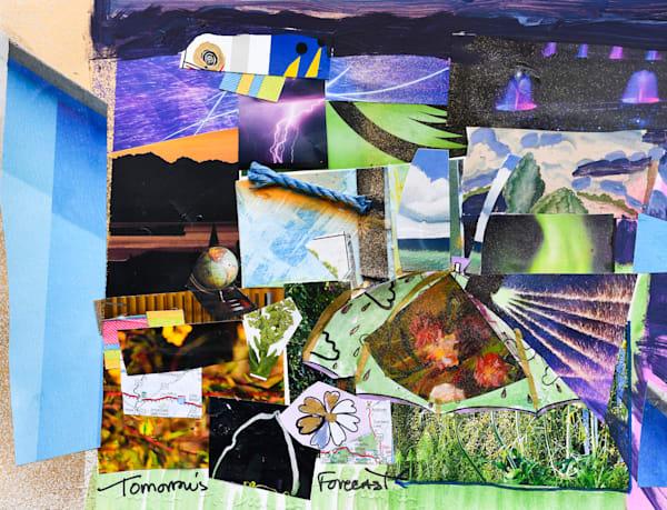 Tomorrow's Forecast: Heat Lightning Art | All Together Art, Inc Jane Runyeon Works of Art