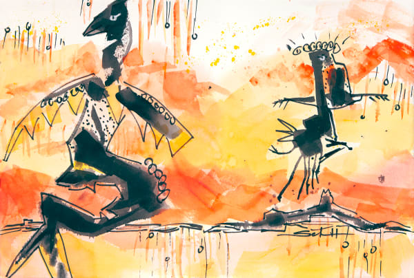 Random Dance Art | Elaine Schaefer Hudson Art