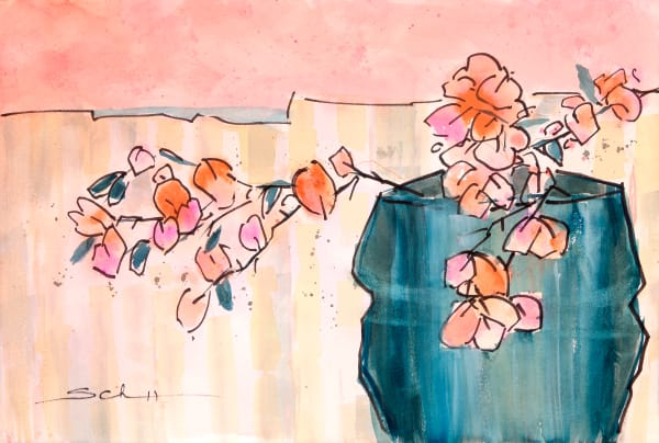 Bougainvillea Art | Elaine Schaefer Hudson Art