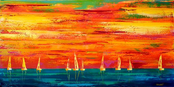 Sea Sail  Art   benbonart