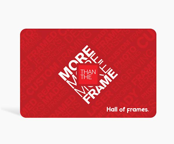 $200 Digital Gift Card | Hall of Frames