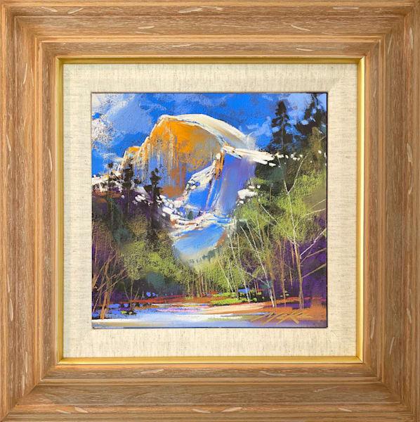 Half Dome Golden Art | Michael Mckee Gallery Inc.