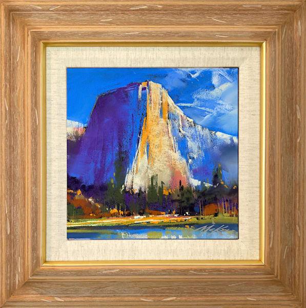 El Capitan In Blue Art | Michael Mckee Gallery Inc.