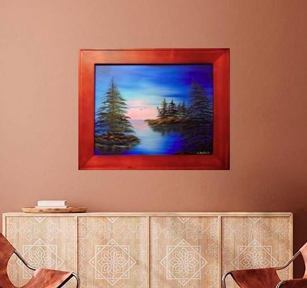Northern Island Pines Art   Lynda Moffatt Fine Arts