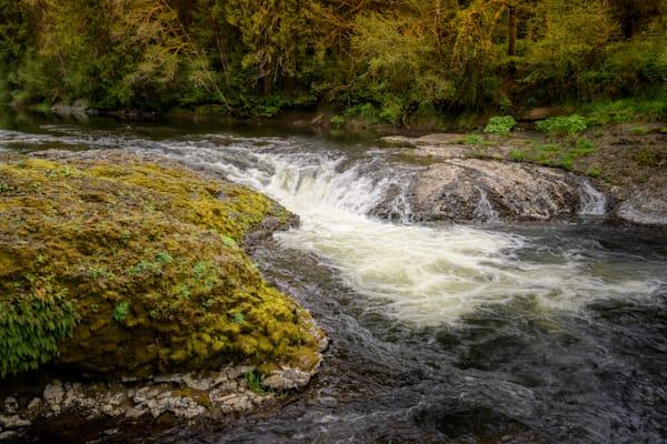 Rainbow Falls, Chehalis River, Washington, 2021
