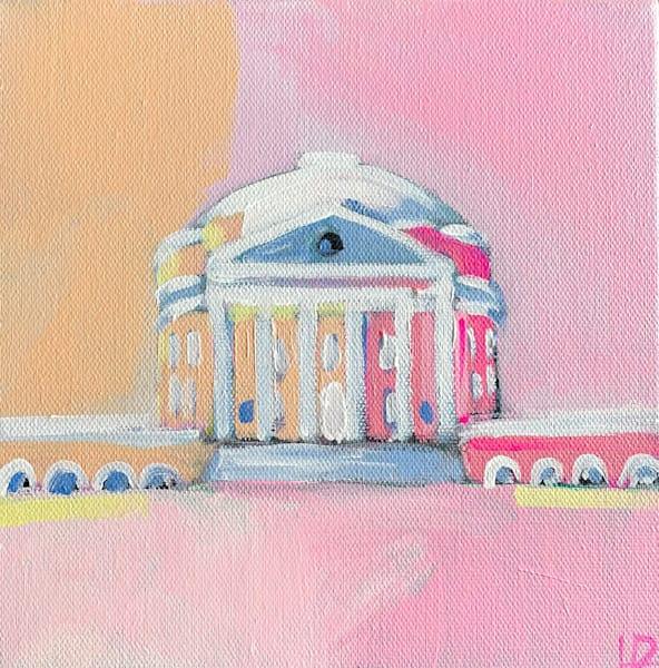 2021 Uva Rotunda Pink   8 X 8  | Lesli DeVito