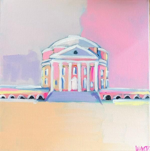 2021 Rotunda Just Peachy   12 X 12 Sold | Lesli DeVito