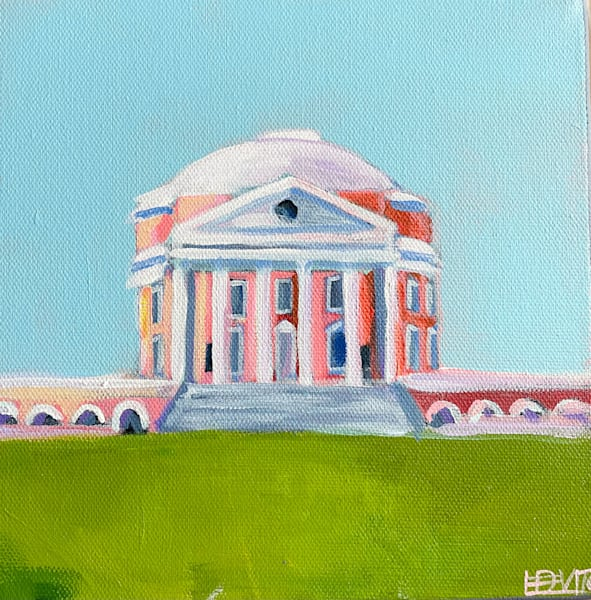 2021 Rotunda Blue Sky I 8 X 8  Sold | Lesli DeVito