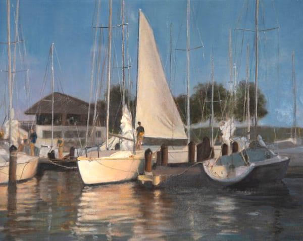 Setting The Sails Photography Art | Monteux Gallery