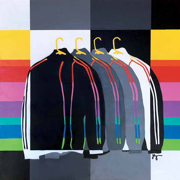 Four Coats,  Original Art | Jon Savage Contemporary Art